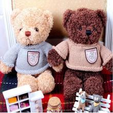 2015 hot selling Animal big toy stuffed Teddy bear high quality wholesale price teddy bear custom stuffed toy cartoon logo