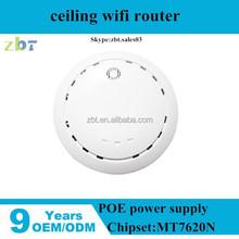 high power 300mbps gigabit Wifi Wall Mount ceiling AP