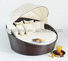 Moroccan sofa wholesale rattan lounge rattan daybed wicker furniture
