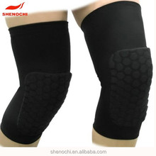 New knee pad with elastic band wholesale anti slip knee pad for basketball