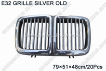 High quality and best price for BMW 7series E32 grill silver1988-1994,made in china,replacement,old type,modify parts