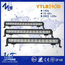 Better Heat dissipation function led strip light kit automotive 4D led off road head light 140W offroad RGB led light bar