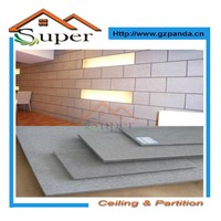 Water Proof And Fire Proof Fiber Cement Wall Board Low Price