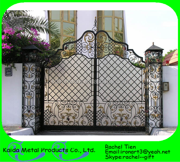 Indian Style House Main Gate Design - Buy Steel Main Gate Design,Iron ...