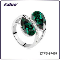 Gold plated Big Stone Model Ring For Women