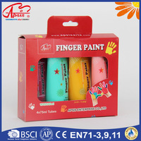 DIY non-toxic factory bright colored finger paint