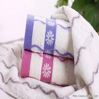 100% cotton terry jacquard towel