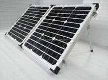 New Solar pack charger portable fridge with solar panel for mobile phone for iPhone and iPad directly under the sunshine