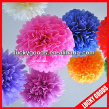 craft paper ball for wedding party home decoration