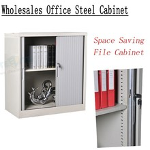 Grey Steel roller photo storage cabinet