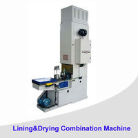 Automatic Food Tin Can Making Production Line/52-99MM can cover&can lid lining and drying machine