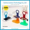 Foldable wall charging mobile phone hanger stand holder foldable mobil holder