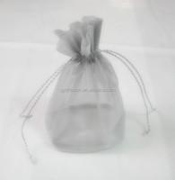 8*12cm grape bag, printed with christmas trees transparent organza gift bag/ribbon gift bags