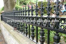 Decorativos de hierro forjado cerca del piquete/valla de metal para el jardín