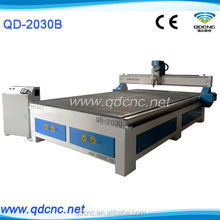 3 axis cnc woodworking router/sculpture wood carving cnc router machine with 4.5kw water cooling spindle QD-2030