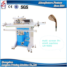 China manufacturer Multi-function Semi-automatic Round Manual Cylinder Pipes Tube Fishing Rods Golf Cue Screen Printing Machine