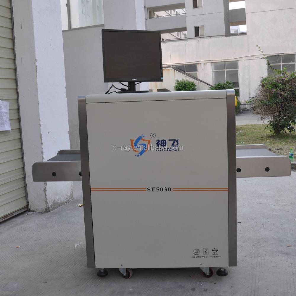 Аэропорт SF 5030 рентгеновский багаж сканер с ce, ISO9001