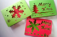 2016 christmas gift SHENHUI laser cutting machine laser crafts