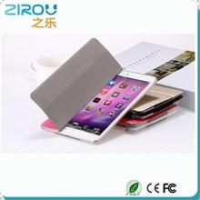 Super thin Fashion Luxury Silk Skin PU Leather Smart Case For iPad Mini 1 Mini 2 Retina Crystal Clear Hard Plastic Back Cover