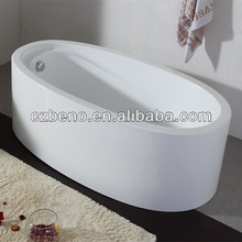 BN-128 Oval Standing bathtub only for soaking ,1600*820*570mm