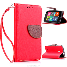 For Nokia lumia 530 China Supplier Wallet Design Cover Pu Leather Mobile Phone Cases For nokia lumia 530 with credit card holder