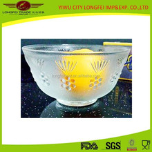 Yiwu Factory Wholesale Middle Frosted Glass Bowl