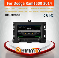 HIFIMAX Android car dvd player for Dodge Ram1500 2014 2 din car dvd player