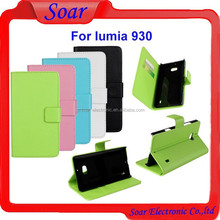 Factory price high quality leather case for Nokia lumia 930,cell phone case for Nokia lumia 930