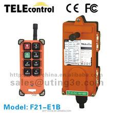 Portable Lightweight Crane Radio remote control industrial remote control for crane F21-E1B