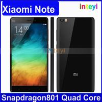 "Original Xiaomi Mi Note Snapdragan801 Smart Phone FDD LTE Celular 5.7"" IPS FHD MIUI 6 3GB RAM 16GB ROM"