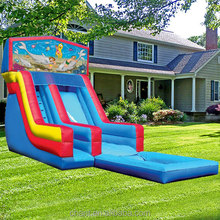 china inflatable slide high quality outdoor commercial inflatable slide