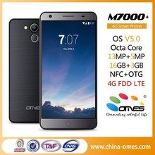 OEM 5.5 inch 4G smart phone Cellular android 5.0 OS IPS multi touch screen octa core support Fingerprint OTG