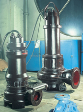 WQ Electric submersible sewage water pump price/heat pump