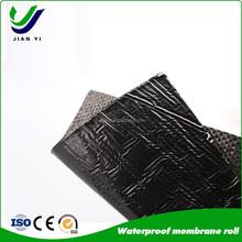 ISO approved plant of asphalt sbs modified bitumen waterproofing rolls , waterproof asphalt membrane