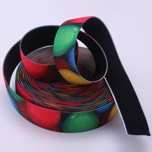 2015 custom heat transfer colored elastic for suspender