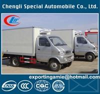 Chinese CLW brand 1.5 tons mini freezer van