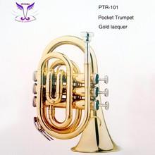 High quality pocket trumpet for hot sale