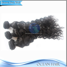 Factory Price Wholesale High Quality 100% Virgin Curl Brazilian Human Hair Wet And Wavy Weave