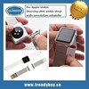 Stainless Steel watch band with connection adapter for apple watch, for apple watch band