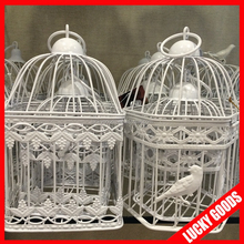 hanging small decorative iron wire bird cage wholesale