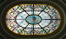 Stained Glass ceiling domes tiffany style