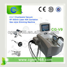 2013 the newest Cryolipolysis Freeze & Cavitation Cellulite+body slimming machine