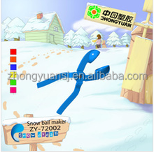 plastic snow baller/snow making machine