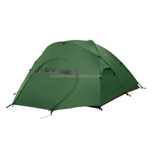 4 person military green sleeping camping tent