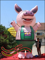 Advertising/event/exhibition/trade show giant inflatable pepa pig animals model