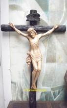 Wood Carved Vietnam Crucifix