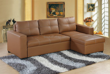 Factory price Corner sofabed with storage function and be a sofa
