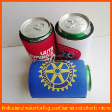 printed world cup high quality can cooler