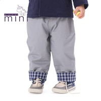 Woven baby cotton baby trousers full sleeve trousers baby trousers elastic waist warm spring/autumn pants