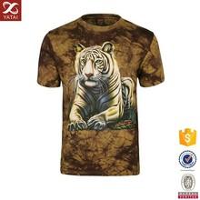 Custom New fashion 3D T Shirt with Lion Printing